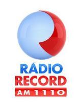 ouvir a Rádio Record AM 1110,0 ao vivo e online Campos dos Goytacazes RJ
