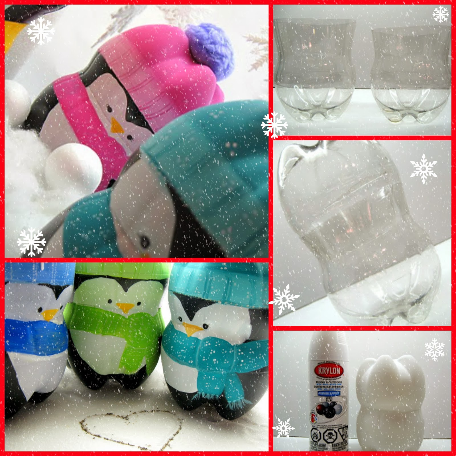 la tercer idea me encanta hermosos pinguinos hechos con botellas como