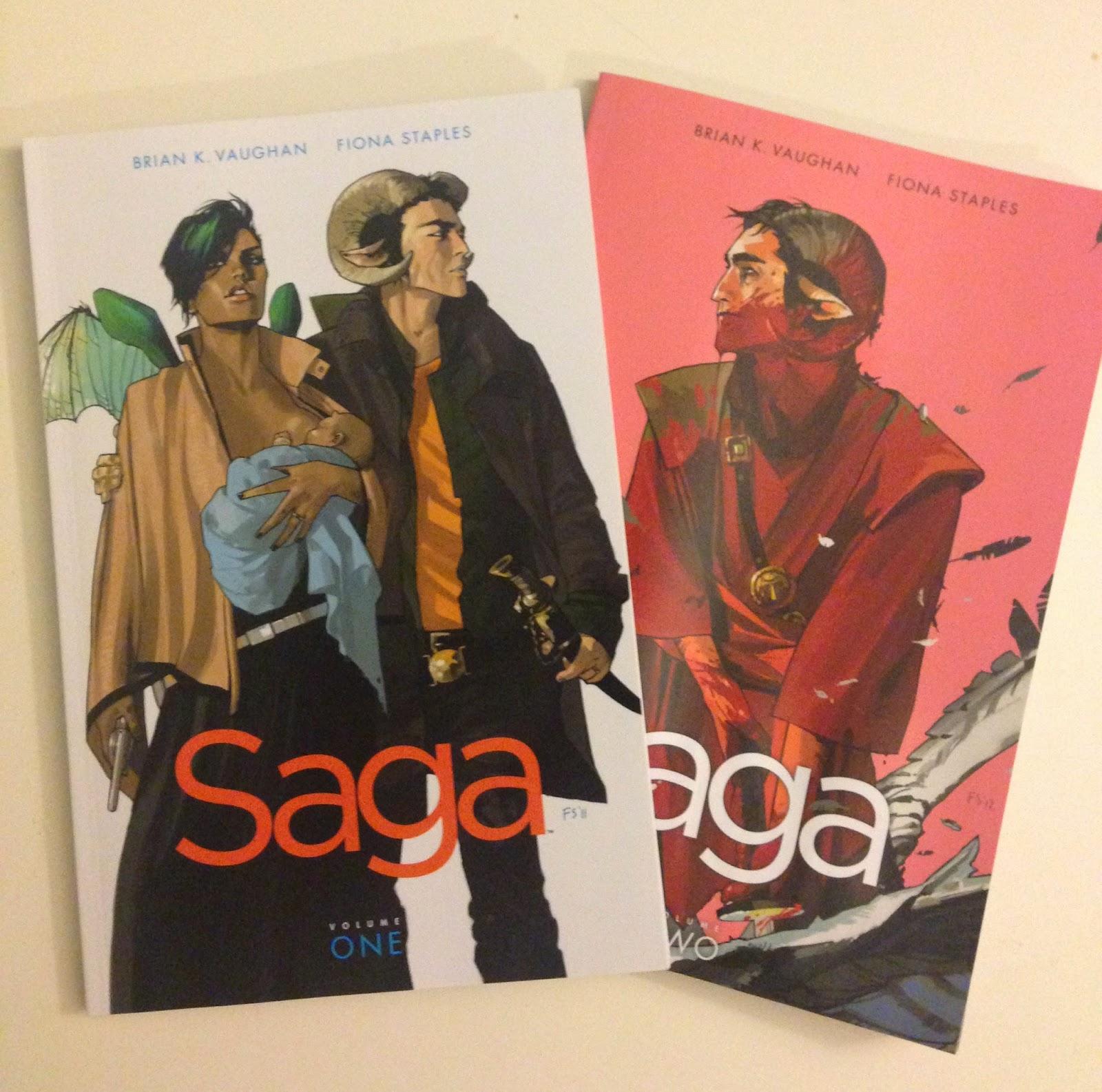 saga comic book graphic novel