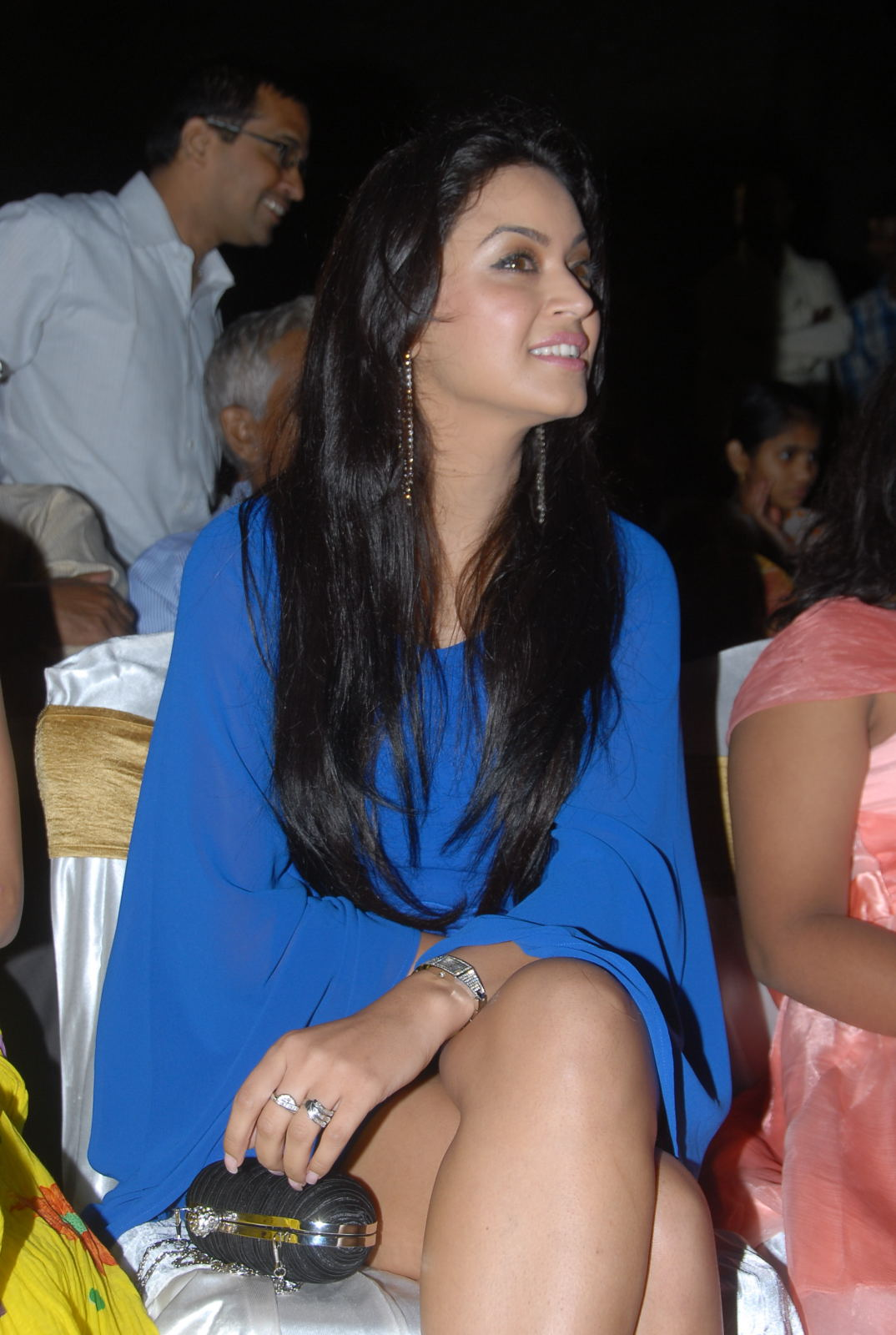 , Maryam Zakaria Hot Stills At Madatha Kaja Audio Launch Zakaria Hot Photos