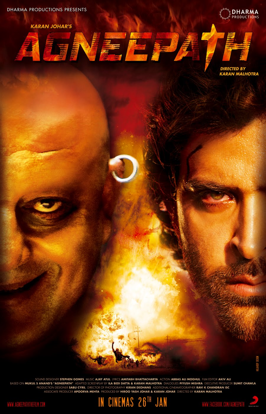 Image Result For Agneepath Hrithik Movie