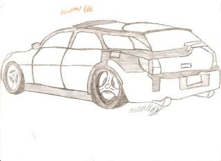 Desenhos Para Colori os Carros antigos  desenhar