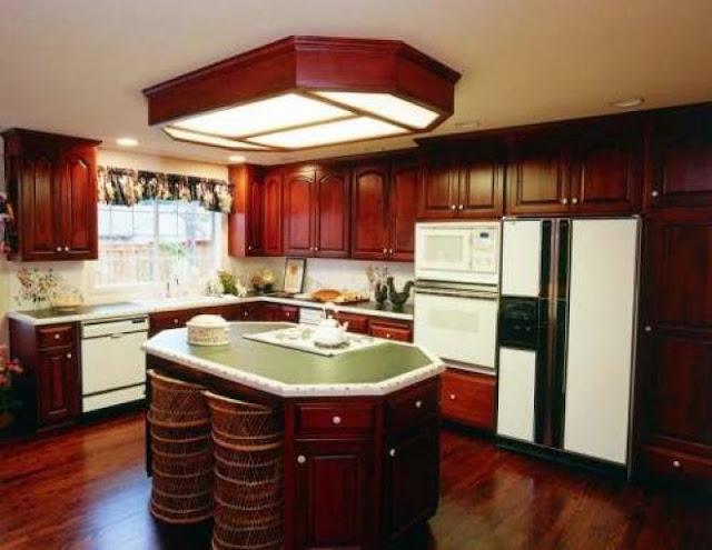 3300 2 or 1401695894 تصميم وديكور مطبخ بمساحة كبيرة بالصور