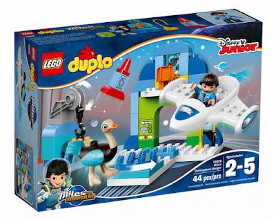 TOYS : JUGUETES - LEGO Duplo  10826 Hangar de la nave de Miles  Miles' Stellosphere Hangar  Miles del Futuro | Miles from Tomorrowland  Producto Oficial Disney Junior 2016 | Piezas: 44 | Edad: 2-5 años  Comprar en Amazon España & buy Amazon USA