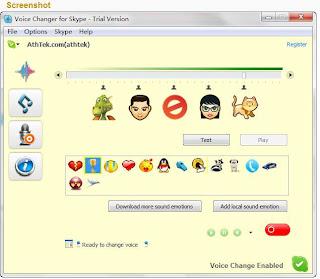 Skype Voice Changer : Program Keren  untuk Pengguna Skype