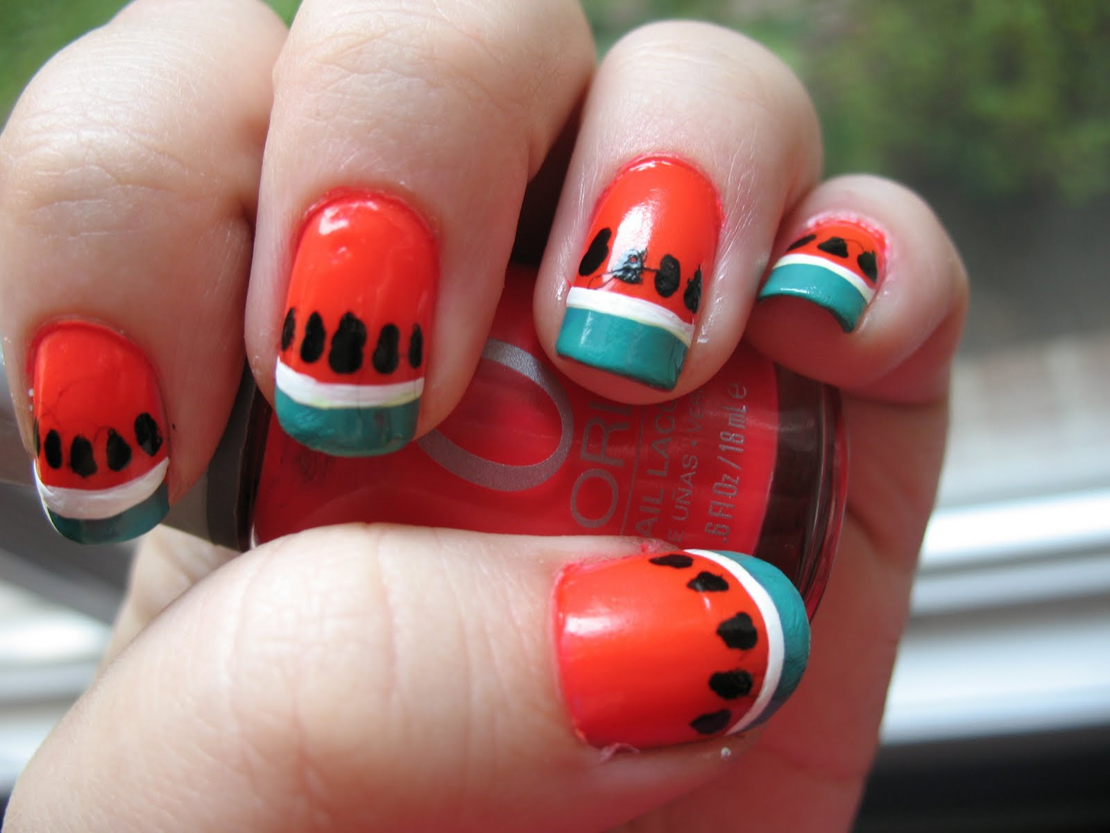 Nail art design 2014 collection of fruit nail art prinsesfo Image collections