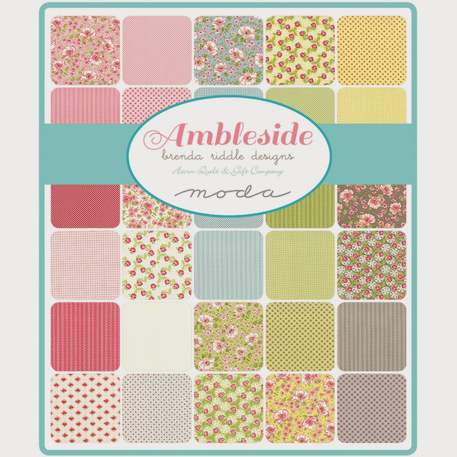 Moda AMBLESIDE Fabric by Brenda Riddle Designs for Moda Fabrics