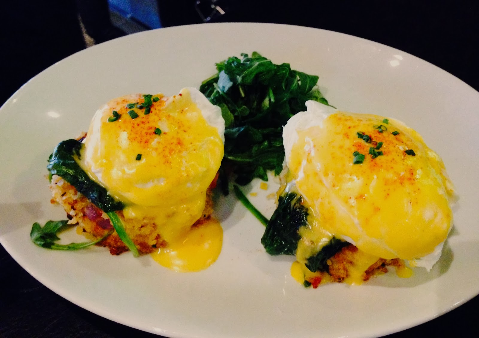 Crab Cake Eggs Benedict Chicago
