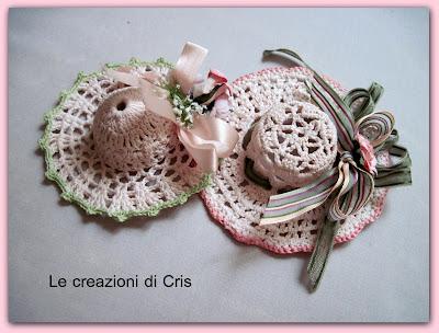Le Creazioni Di Cris Di Tutto Un Pò Mini Cappellini All