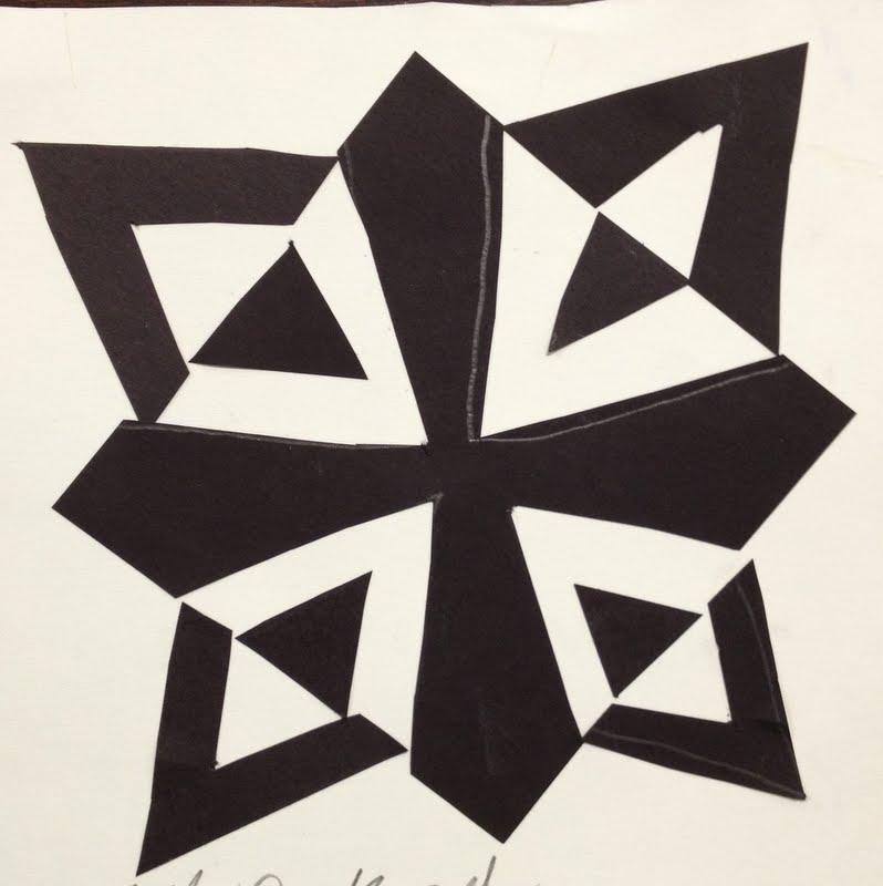 Negative positive space notan designs for Negative space design