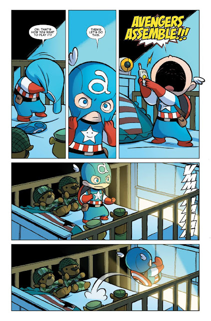Calvin's Canadian Cave of Coolness: Baby Avengers Vs Baby ...