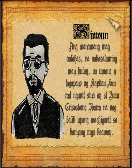 el filibusterismo reaction Transcript of characters of el filibusterismo simuon isagani crisostomo ibarra in disguise, left for dead at the end of noli me tangere ibarra has resurfaced as the wealthy jeweler.