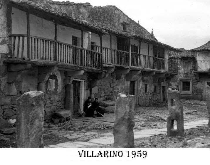 Arquitectura popular en VILLARINO de los AIRES 1959