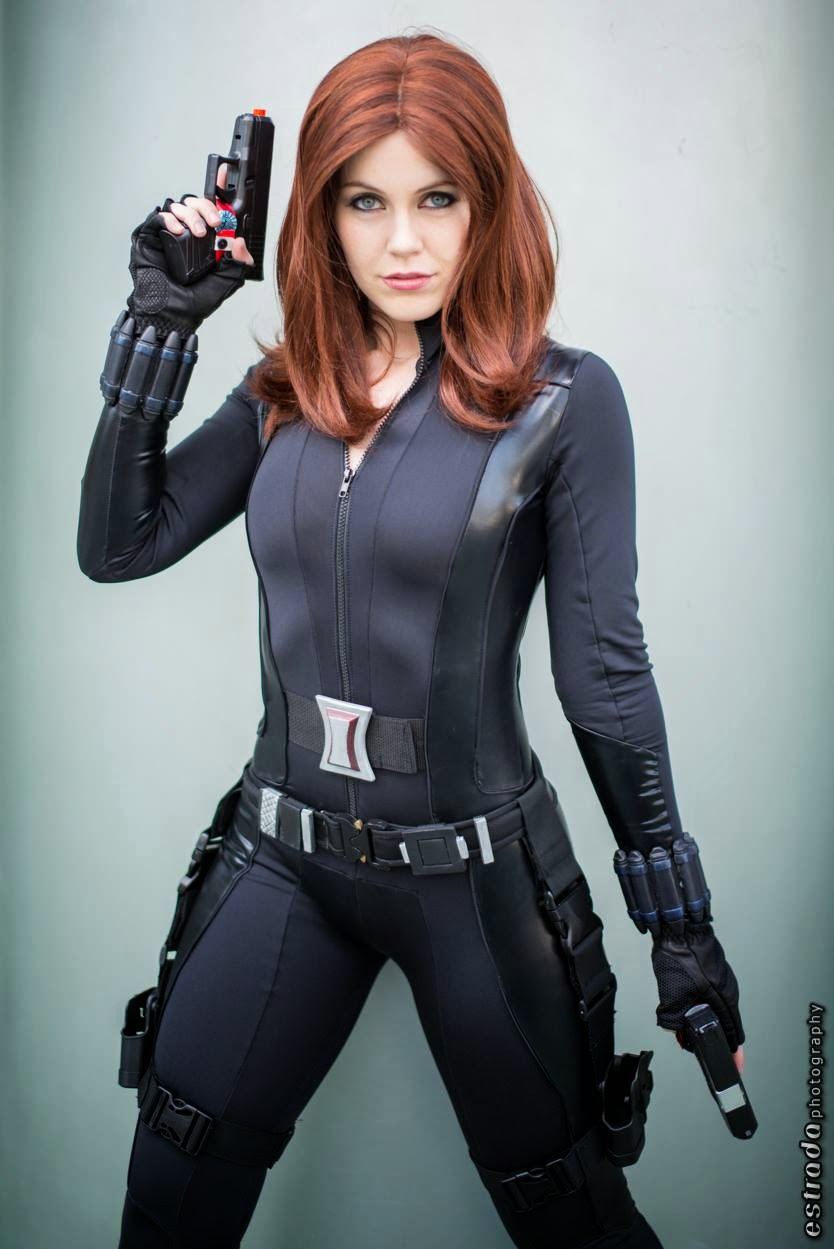 How to make a marvel black widow costume - photo#4