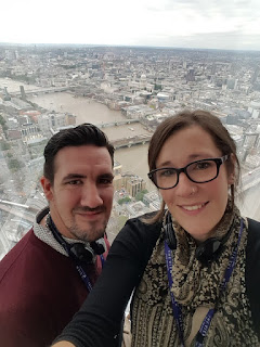 Enjoying The View, The Shard, London