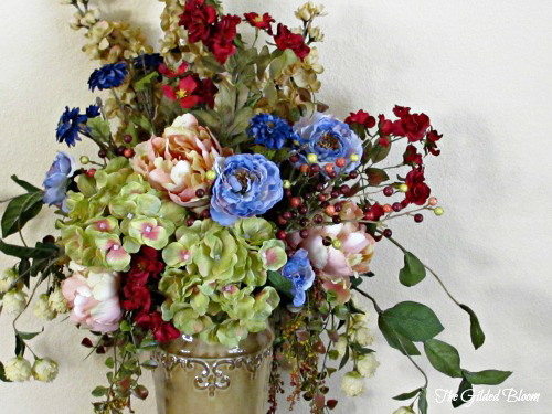 Fall floral arrangements designing with silk flowers the gilded bloom silk flowers add color and texture to a room without the constant maintenance required with fresh flowers this autumn i decided to make a few arrangements mightylinksfo