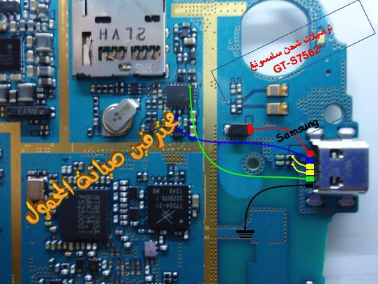 Samsung S7562 Full Usb  U0026 Charging Ways Jumper Solution