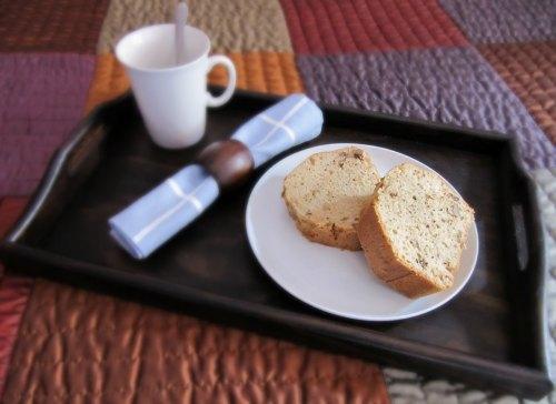 Presentación Cake de nueces