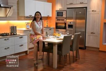 derni re r alisation la d coration d 39 un show room de cuisiniste couleurs et nuances le blog. Black Bedroom Furniture Sets. Home Design Ideas