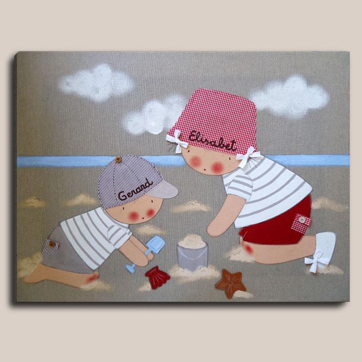 Cuadros personalizados - Cuadros hechos con piedras de playa ...