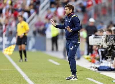 Mauricio Pochettino training ground press conference