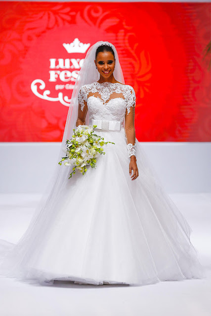 vestido de noiva princesa buque