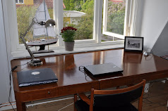 A new desk for working from home