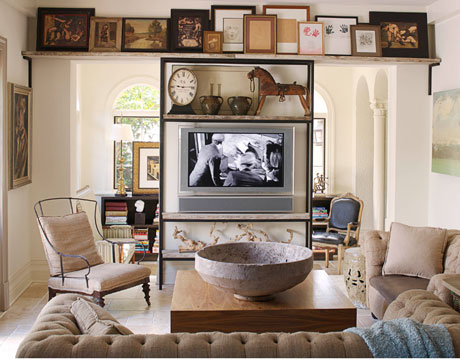 Vintage Collection Horse Themed Accents Living Room: