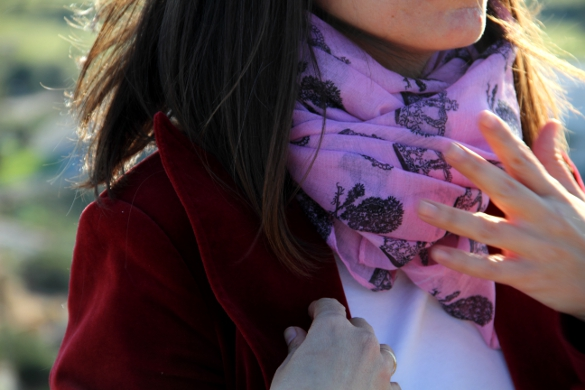 foulards estampados