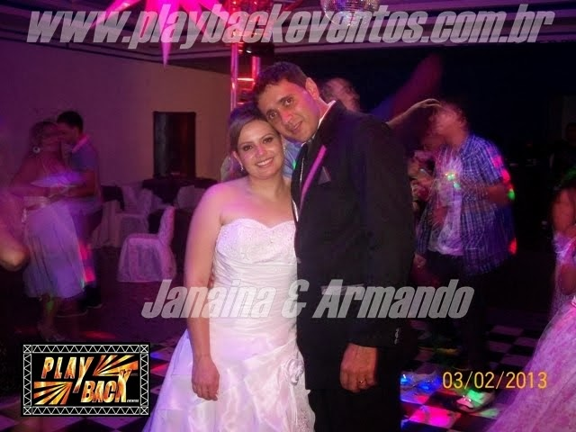 Janaina e Armando  Casamento