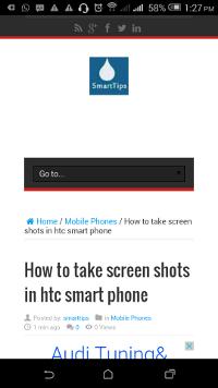 screenshot htc