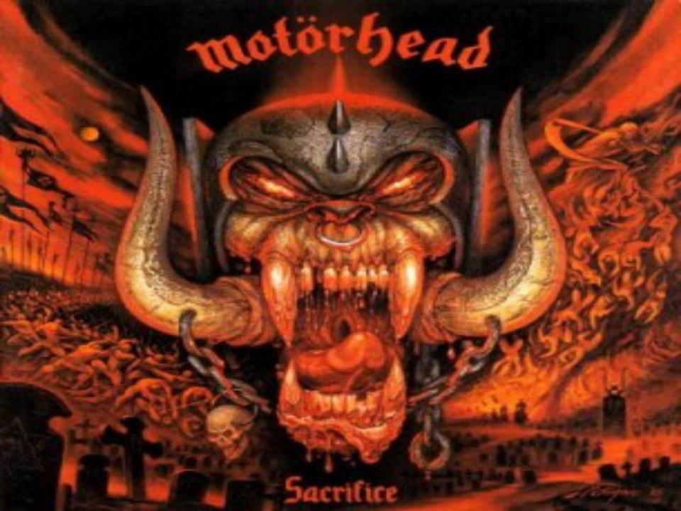 Sacrifice Álbum de Motörhead