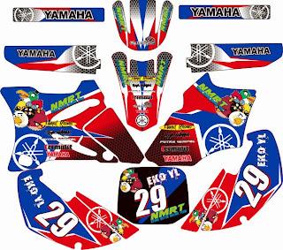 Decal Yamaha YZ Murah
