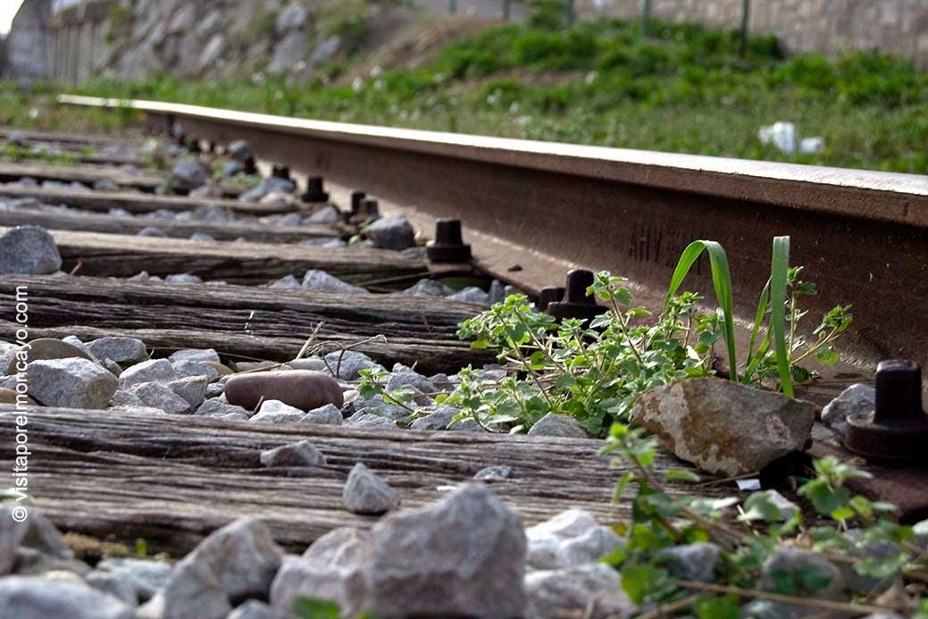 ferrocarril vías ferroviarias tren
