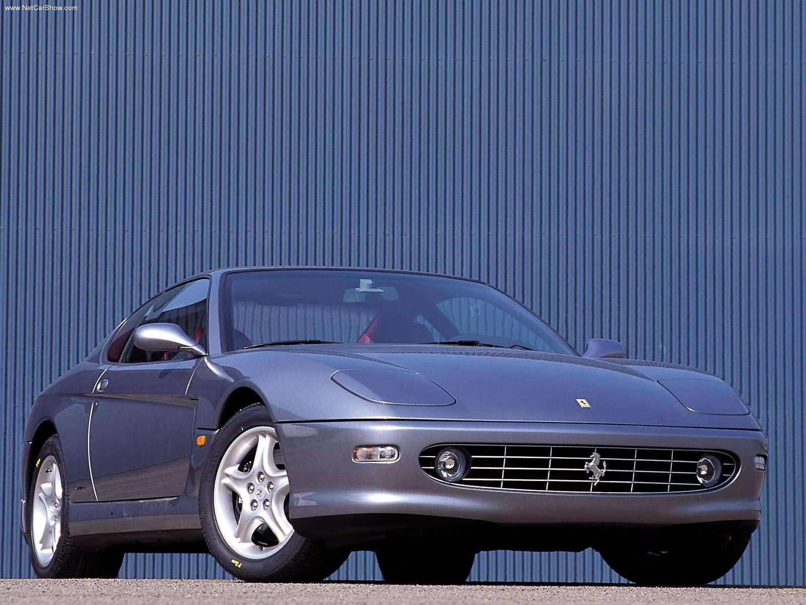 Hình ảnh siêu xe Ferrari 456M GT 2001 & nội ngoại thất