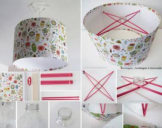 Lamparas de papel pantallas para decoraci n - Como hacer una lampara de techo ...