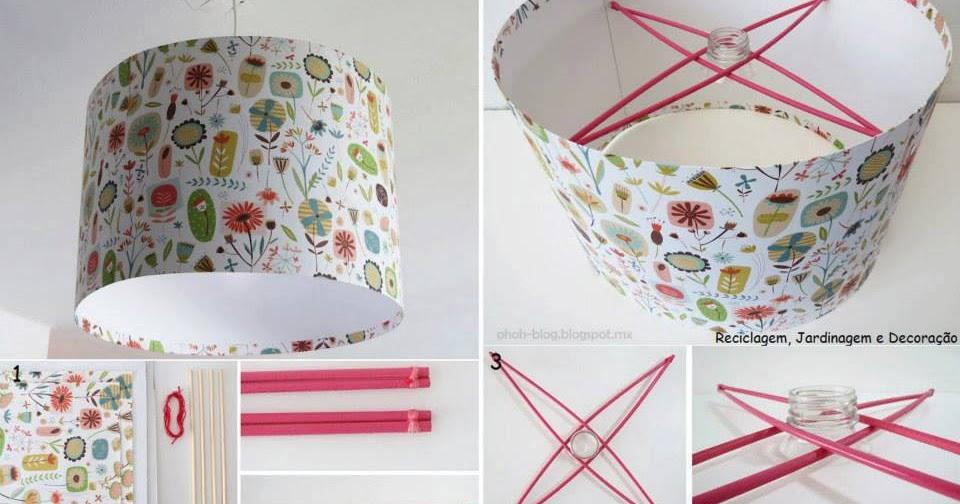 El detalle que hace la diferencia lamparas de pap - Como decorar tulipas de lamparas ...