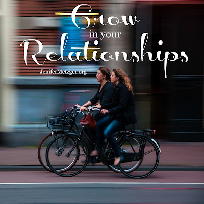 Grow in your #relationships