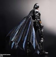 Square Enix Play Arts Kai The Dark Knight Trilogy SDCC Exclusive Batman Figure