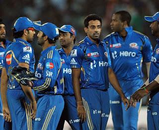 मुम्बई इंडिअन्स का IPL फ़लादेश