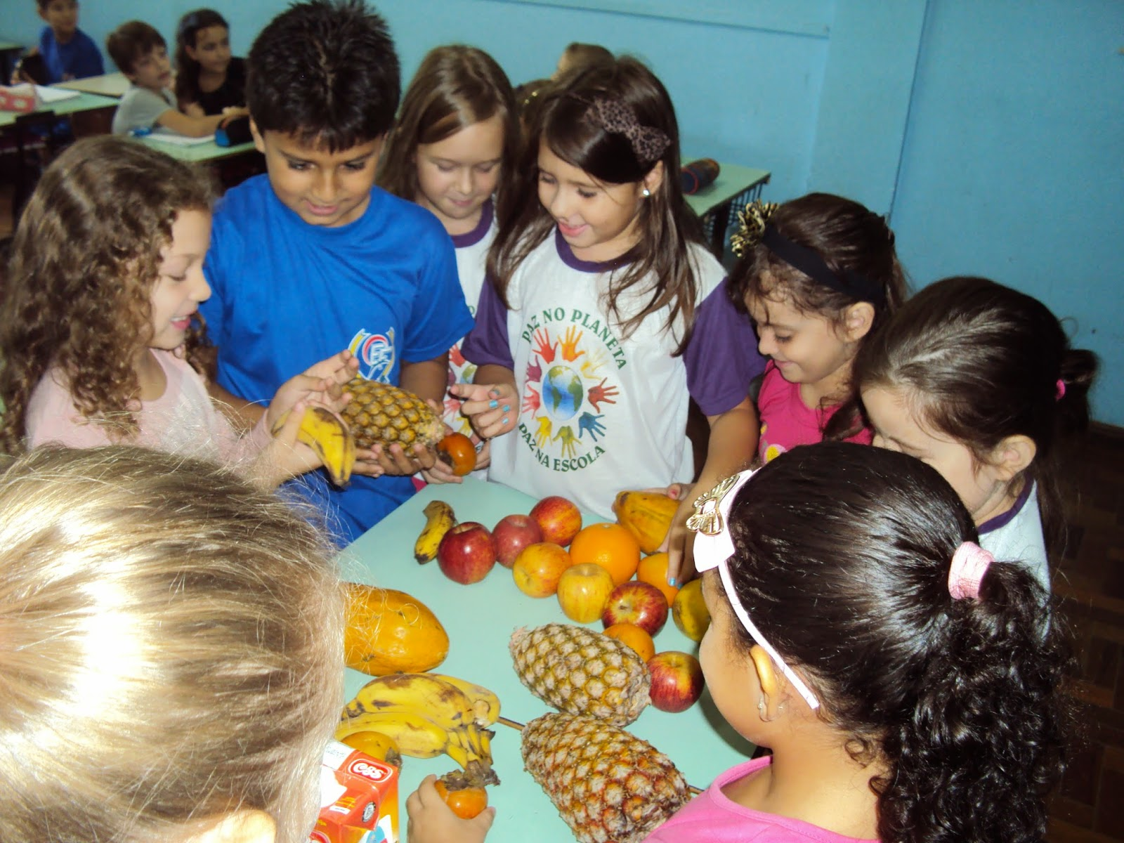 Super Blog da Escola Edson: Projeto Alimentação saudável - Professora  AV79