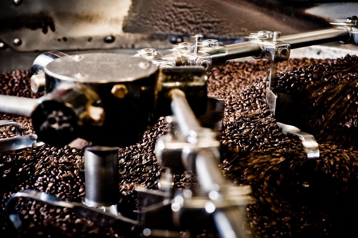 Kávépörkölés folyamata