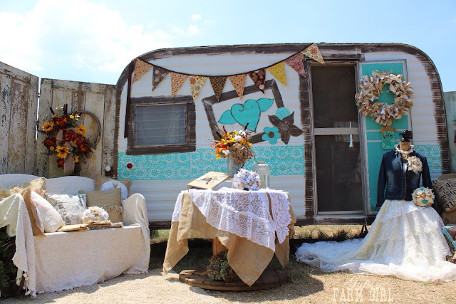 fall and rustic home and wedding decor
