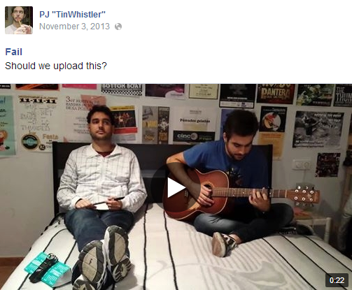 Fail - Should we upload this? (video on FB)