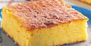 Bolo de milho e queijo light