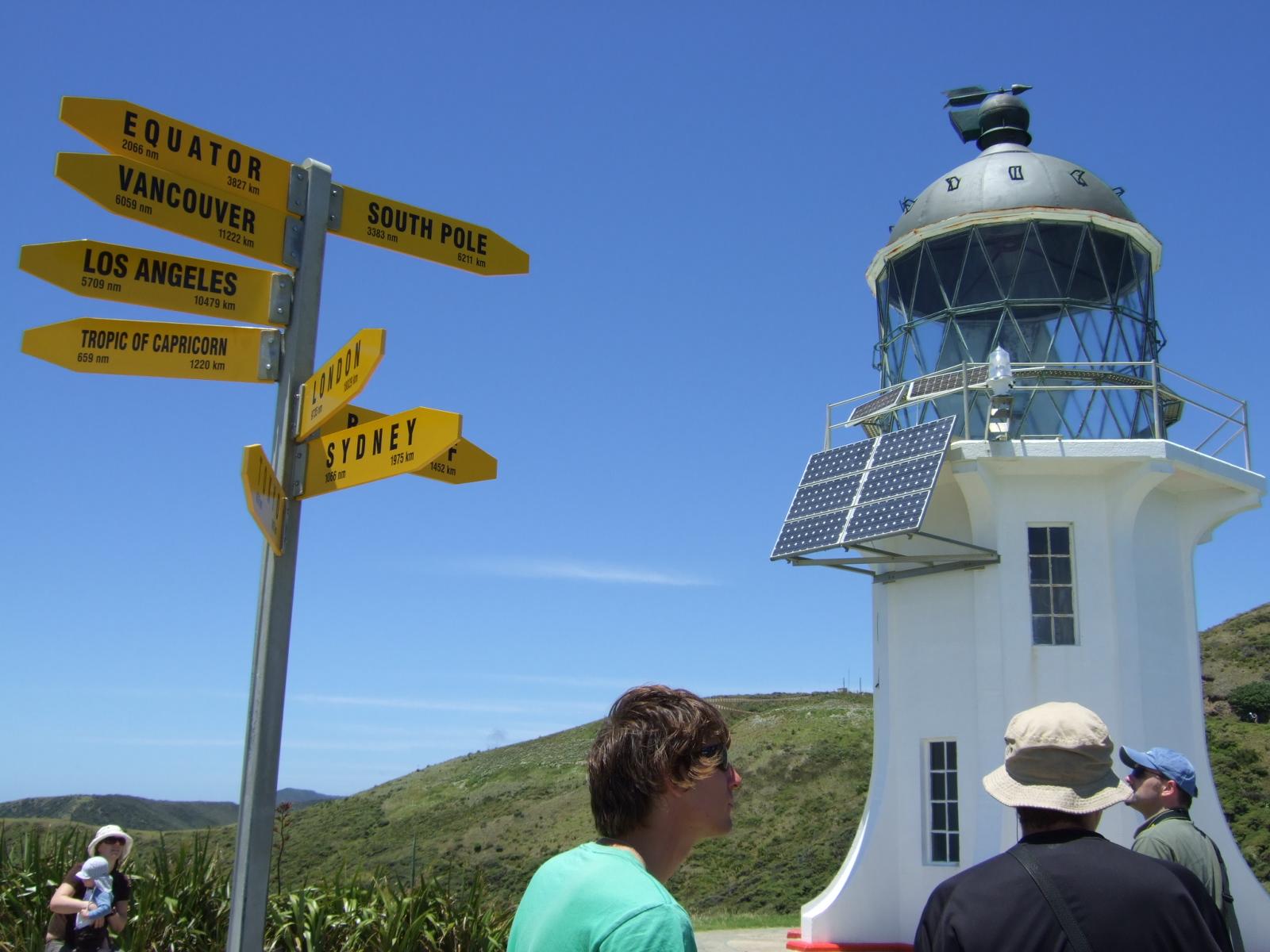 灯台,標識,看板,レインガ岬,NZ〈著作権フリー無料画像〉Free Stock Photos