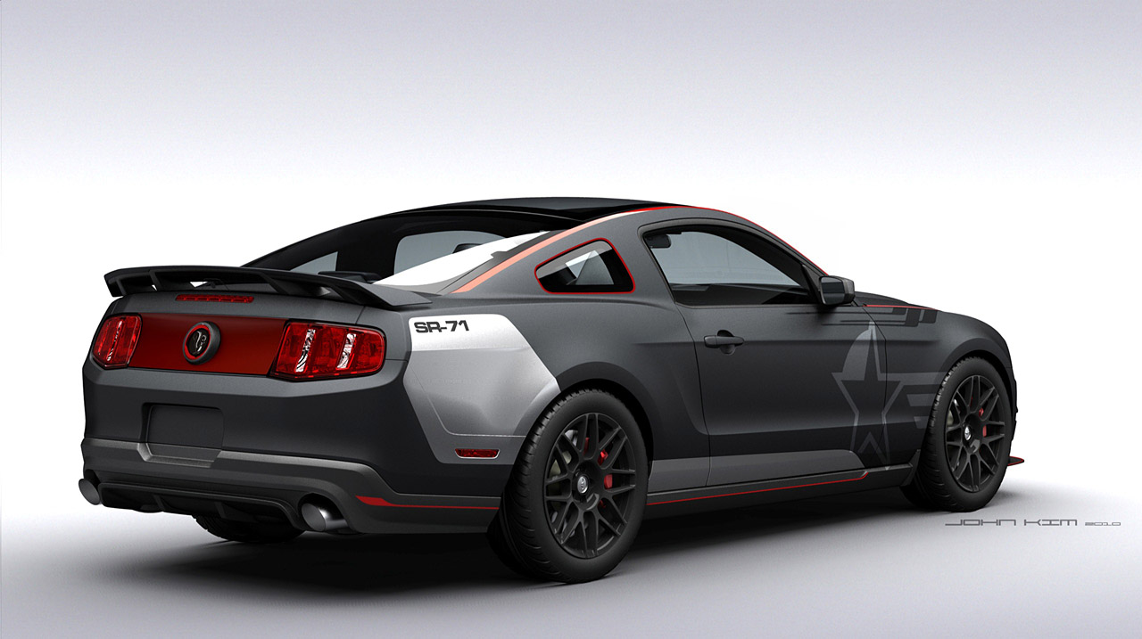 ford mustang 2011 view art racing. Black Bedroom Furniture Sets. Home Design Ideas