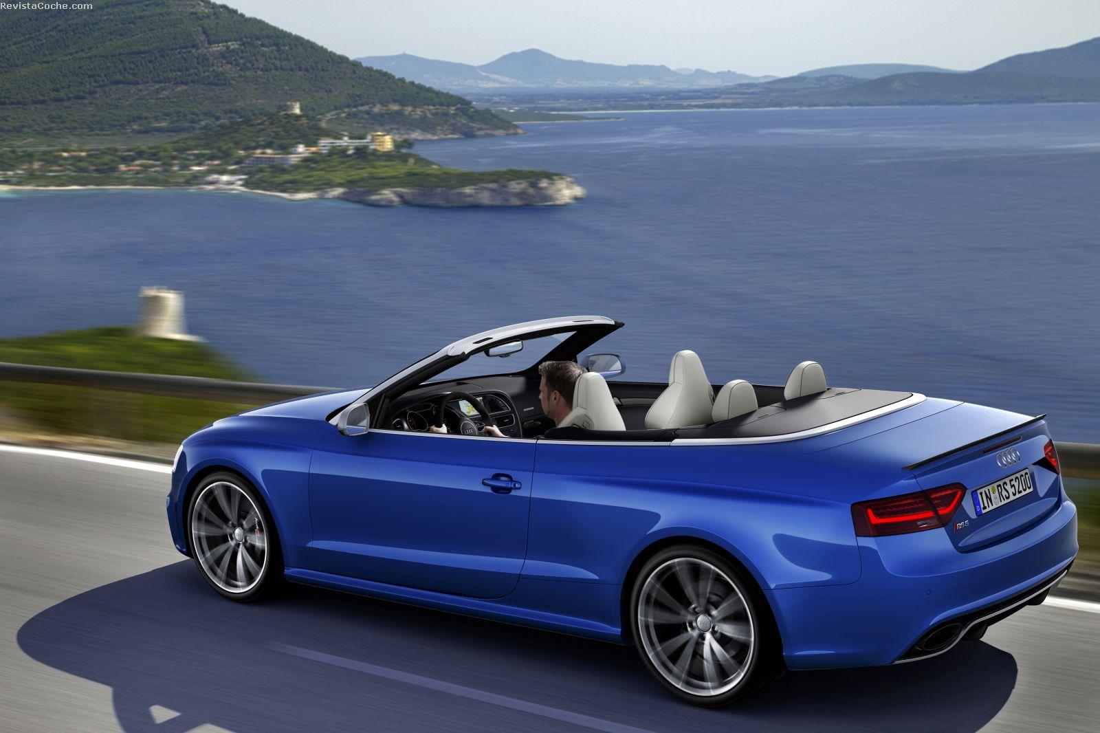 revista coche nuevo audi rs5 cabrio 2013. Black Bedroom Furniture Sets. Home Design Ideas