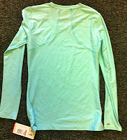 Style Athletics Mint Green Blue Under Armour Long Sleeve Compression