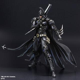 """Square Enix Play Arts Kai DC Comics """"Variant"""" Batman Figure"""
